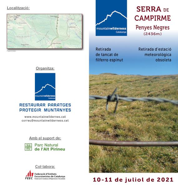 Acció 2021 Serra de Campirme